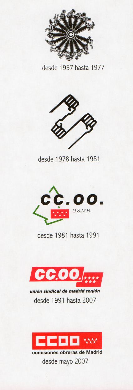 50 Años de imagen corporativa de CC.OO.